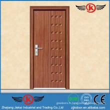 JK-P9013 JieKai pvc film enveloppé porte / MDF intérieur PVC porte en bois / PVC Profil pour Windows et Portes