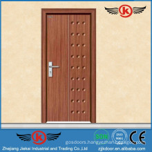 JK-P9013 JieKai pvc film wrapped door / MDF interior PVC wooden door / PVC Profile for Windows and Doors