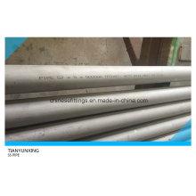 Tuyaux en acier inoxydable sans soudure ASTM A312 316ti pour Bolier