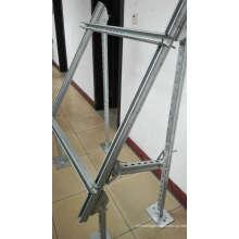 Estrutura de aço dos sistemas solares, suporte do picovolt