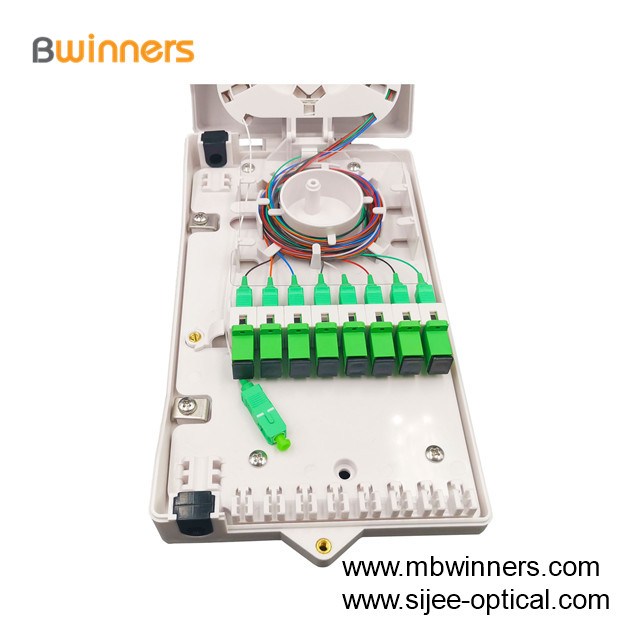 8 Ports Fiber Optic Termination Box