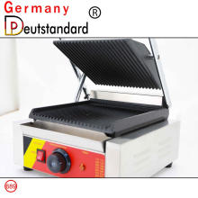 Máquina de sándwich panini grill comercial