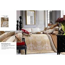 Luxus Royal Style Jacquard Bettwäsche Set Seide Wie China Preis