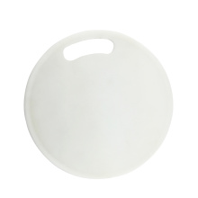 plastic round shape pp board cutting board