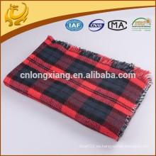 China Mantas Cobertura Térmica de algodón orgánico de 85 * 170 cm de tamaño completo