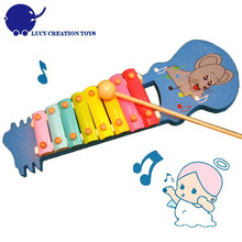 Lovely Jack Maus Hand Knock Baby Spielzeug Xylophone Klavier
