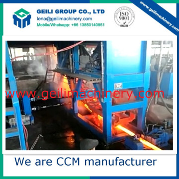 Steel-Making Equipment/Machine Complete Continuous Casting Machine