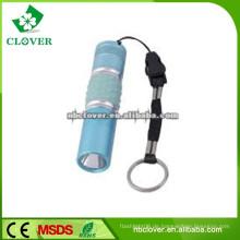 12000-15000MCD mini Größe 9 Aluminium führte Taschenlampe Fackel