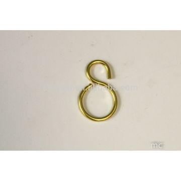 Ganchos de cobre decorativos 2mm-3mm