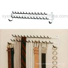Estrutura de aço montada na parede ou na porta