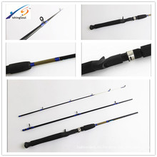 la caña de pescar de los trastos de pesca de los productos de China de la barra de pesca 3sections 1.80mt