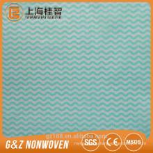 Одноразовые бытовой чистки nonwoven ткани/полотенца пользовательские печатные полотенца сухие салфетки ткани