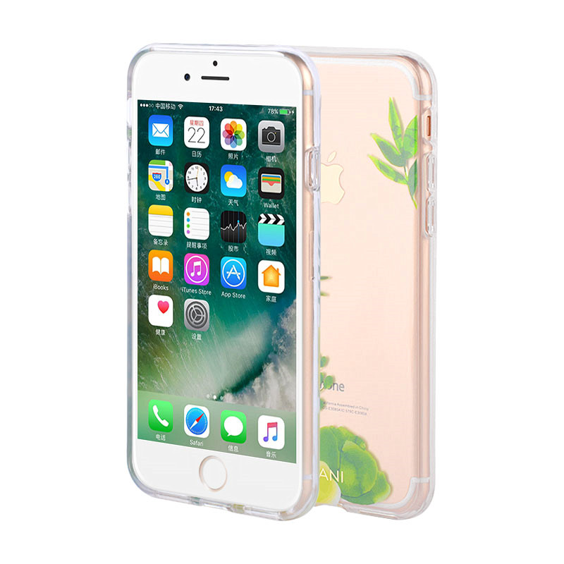 Case for iPhone with flower