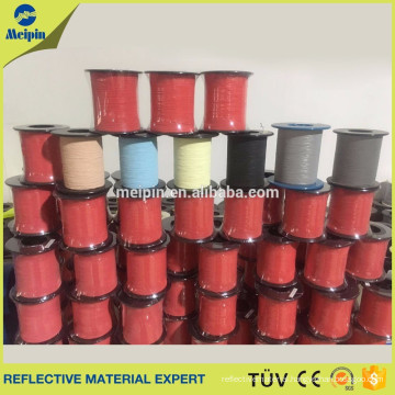Colorful Reflective yarn tape for clothing accesorrie