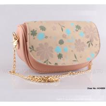 Nuevo bolso de hombro de las señoras de la llegada Bolso de cuero genuino clásico
