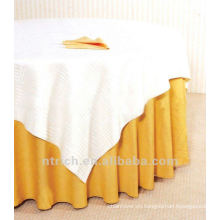 excelente y barata mantel del poliester 100%, cubierta de tabla de fiesta, ropa de mesa
