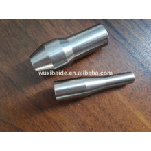 OEM personalizado cnc torneado de titanio / aluminio / acero piezas de maquinaria textil forja y fresado de piezas de máquinas textiles