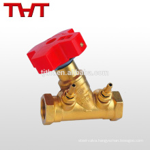 CE approved forged static brass balance valve