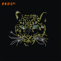 Tiger Animal Hot Fix Rhinestone Transfer Motif