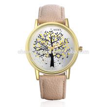 2016 Stilvolle schöne einfache Quarz Leder Armbanduhr Armbanduhr SOXY010