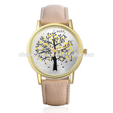 2016 Stylish Beautiful Simple Quartz Leather Strap Wrist Watch SOXY010