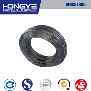 High Carbon Black Round Industrial Spring Steel Wire