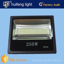Factory IP65 250w led flood light for station, stadium illumination