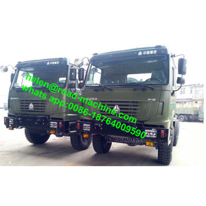 All Wheel Drive Styer Eje Sinotruk Dumper Truck