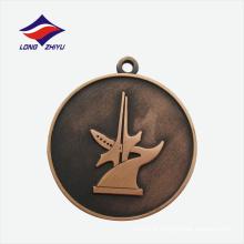 Fábrica customizada nova escola de design de medalha de engenharia de petróleo