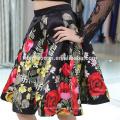 Robe de soirée à manches longues en dentelle de style court pour la mode grande taille et dame élégante