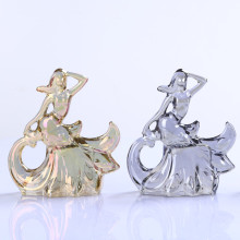 Venta al por mayor Crystal Beautiful Dancer Girl Decoration