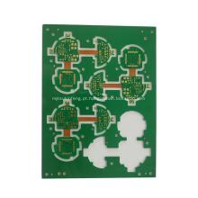 PWB multilayer de alta qualidade FR4 / placa de circuito rígida do cabo flexível