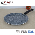 Panelas de revestimento de granito tawa pan pan panqueca para cozinhar