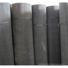 Black Wire Mesh / Mild Stahl Draht Mesh / Black Wire Tuch