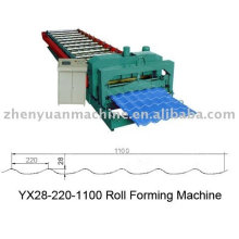 supplier for YX28-220-1100 Glazed Tile Roll Forming Machine, Steel Roof Forming Machine