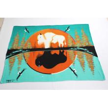 Printed Polar Fleece Blanket- (double-side)