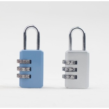 Solid Colorful Zinc Alloy combinatie padLock