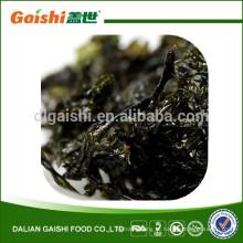 comida saudável chinesa seca wakame fatia