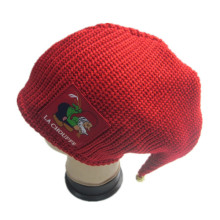 Christmas Knitted Hat With Bell On Top