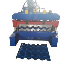 Máquina laminadora de tejas esmaltadas con paneles de techo