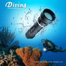 CREE XM-L2 U2 Scuba underwater 2*18650 battery photography studio lights
