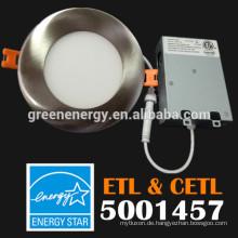 14 Watt ETL UL Energy Star schlanke LED-Downlight, 6 Zoll 4 Zoll 14W 18W LED-Down-Licht dimmbare LED-Einbaudownlight ETL