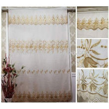 New Design Embroidered Fashion Curtain Style