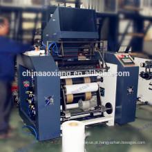 Máquina automática de rebobinadora de filme aderente