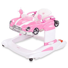 New PP Plastic Rocking Horse Baby Walker