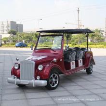 Nouveau design 8 chariot de golf classique de Searter Dn-8d avec le certificat de Ce
