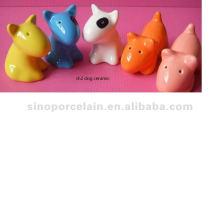 Distributeur de sel et de poivre en céramique pour chien BS120726A