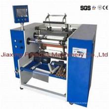 Máquina de rebobinado de hoja automática de aluminio de tres ejes