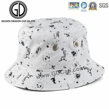 2016 Cap Cap Casual respiradero algodón cubo Hat con impreso