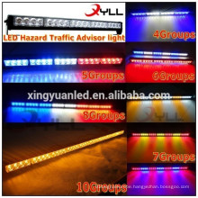 24'' Hazard Tow Traffic Advisor Strobe Light amber led light bar Full size car roof light bar